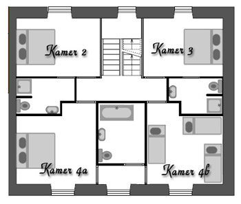Domaine de romefort for 3 chambres dans 50m2